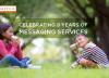 स्प्यारो एसएमएस सेवा डेढ करोडमाझ, १८०० नियमित ग्राहक